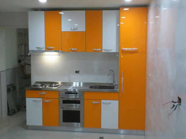 廚房設計翻修-廚房水電工程-屏東市建豐路