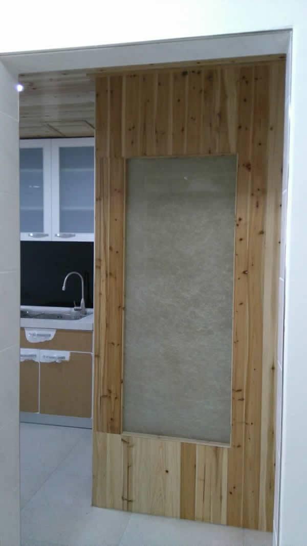 廚房風水牆