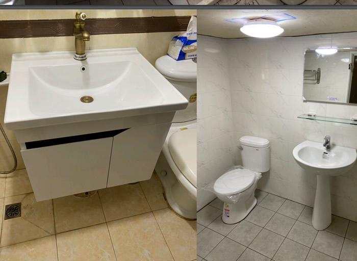浴室翻修-屏東市王小姐
