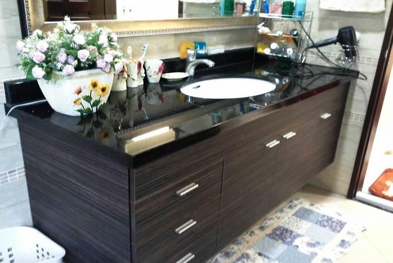 高級浴櫃安裝-屏東市古松西巷吳先生