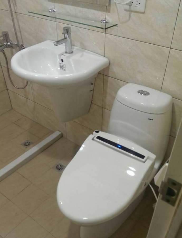 (一體成形)單體廁所安裝