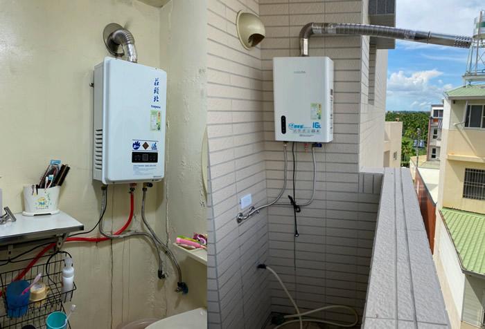 一般熱水器安裝